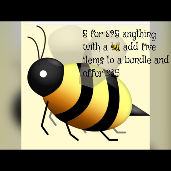 Accessories - 5 for $25 sale any item with a 🐝